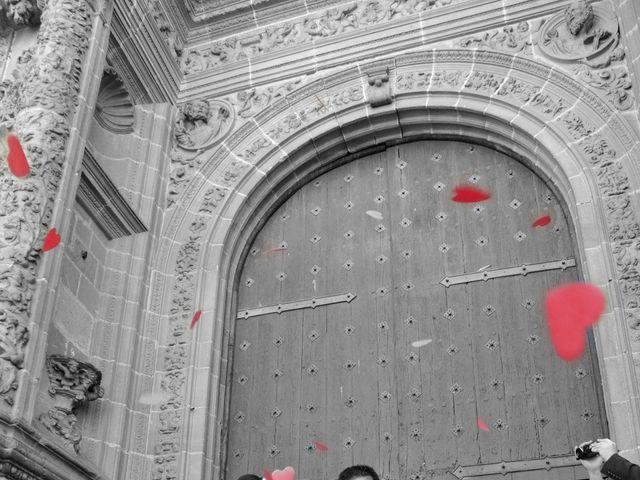 La boda de Aitor y Camino en Valdastillas, Cáceres 13