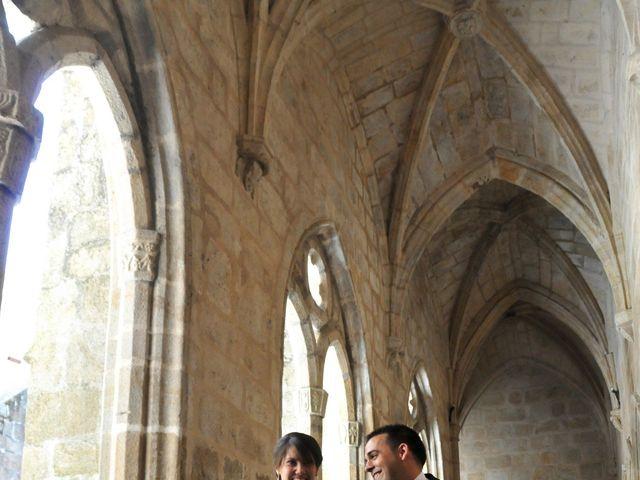 La boda de Aitor y Camino en Valdastillas, Cáceres 19