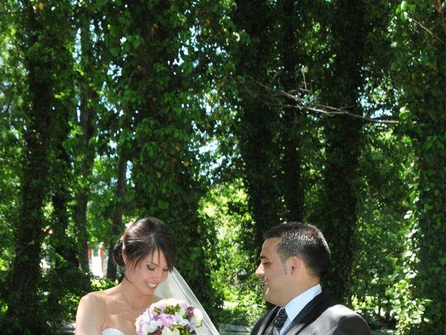 La boda de Aitor y Camino en Valdastillas, Cáceres 22