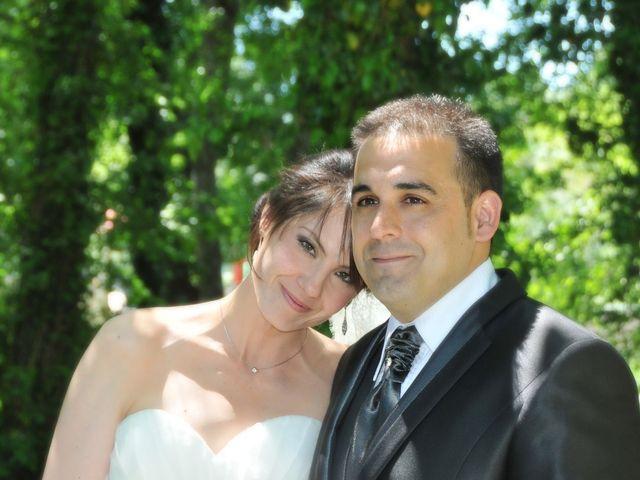 La boda de Aitor y Camino en Valdastillas, Cáceres 23
