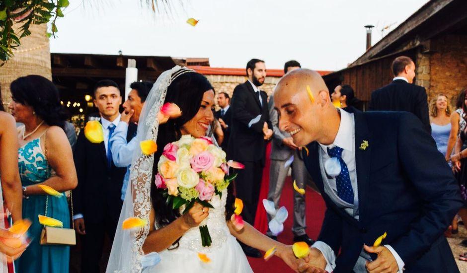 La boda de Rubén  y Diana en La Manga Del Mar Menor, Murcia
