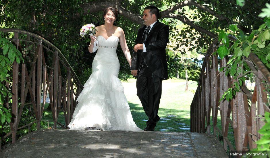 La boda de Aitor y Camino en Valdastillas, Cáceres