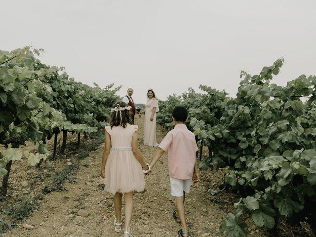 La boda de Rosa y Laurent