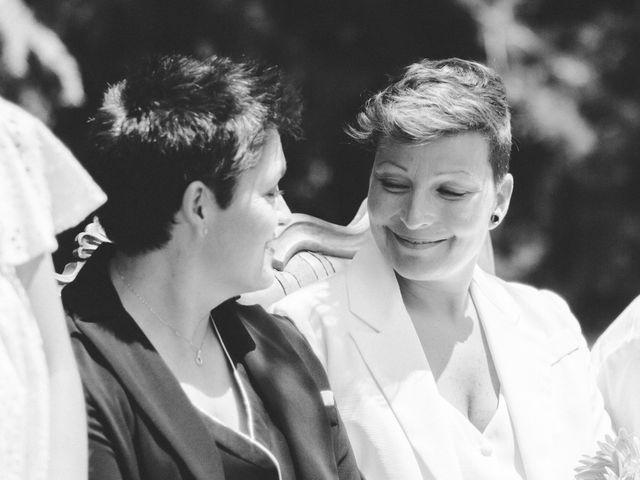 La boda de Kika y Núria