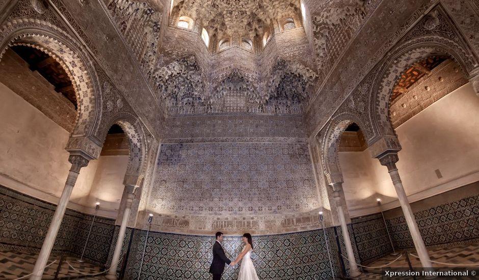 La boda de Enrique y Cecilia en Granada, Granada