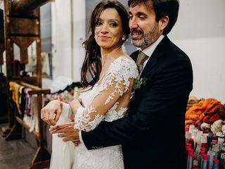 La boda de Yvonne y Luis