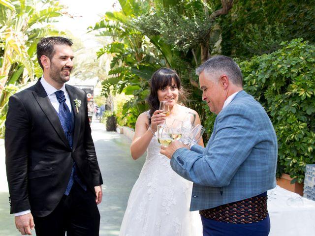 La boda de Alejandro y Virginia en Huercal De Almeria, Almería 24