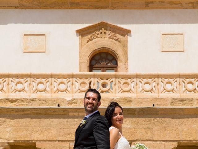La boda de Alejandro y Virginia en Huercal De Almeria, Almería 34