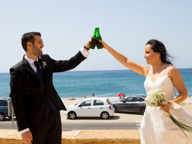 La boda de Alejandro y Virginia en Huercal De Almeria, Almería 36