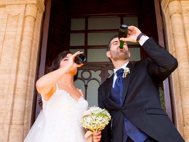 La boda de Alejandro y Virginia en Huercal De Almeria, Almería 39