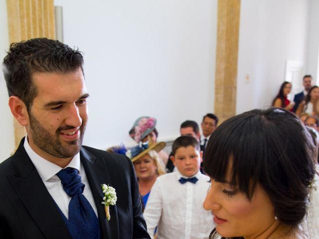 La boda de Alejandro y Virginia en Huercal De Almeria, Almería 45