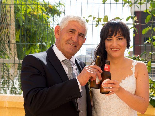 La boda de Alejandro y Virginia en Huercal De Almeria, Almería 54
