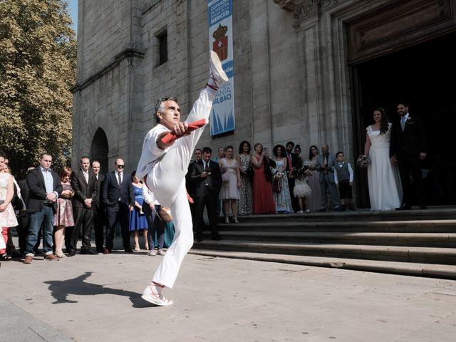 La boda de Miguel Ángel y Agurtzane en Galdakao, Vizcaya 6