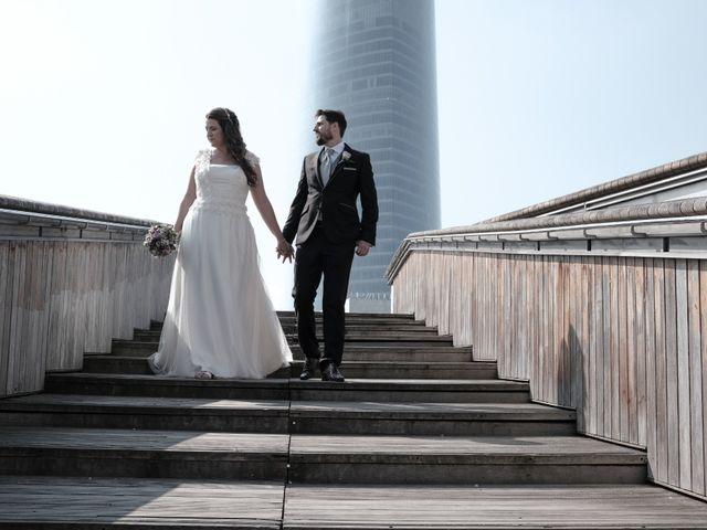 La boda de Agurtzane y Miguel Ángel