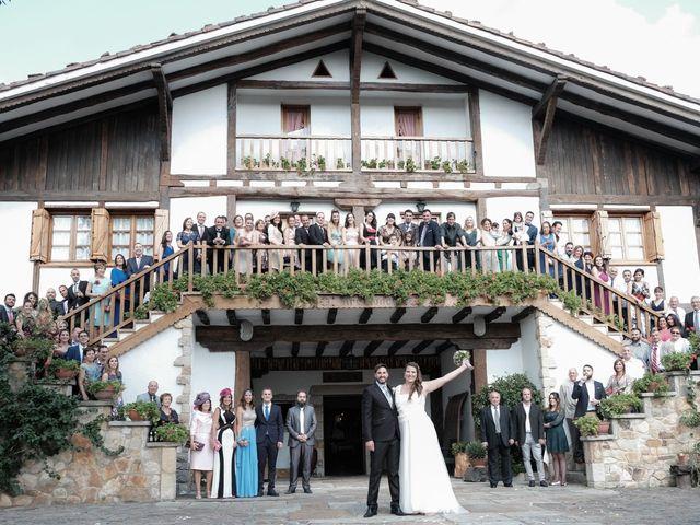 La boda de Miguel Ángel y Agurtzane en Galdakao, Vizcaya 1