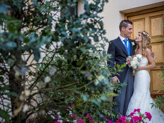 La boda de David y Silvia en Guadarrama, Madrid 27