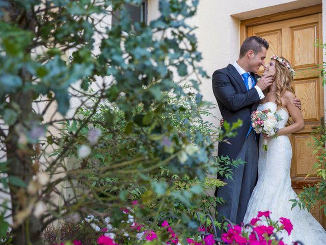 La boda de David y Silvia en Guadarrama, Madrid 28