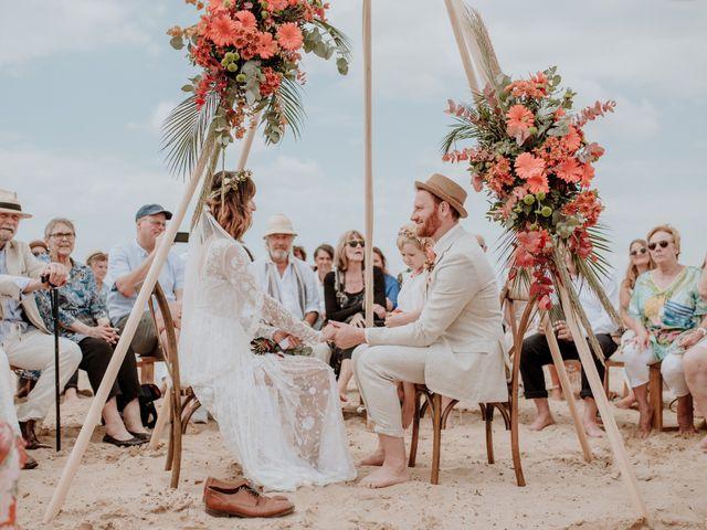 La boda de Sarah y Julian