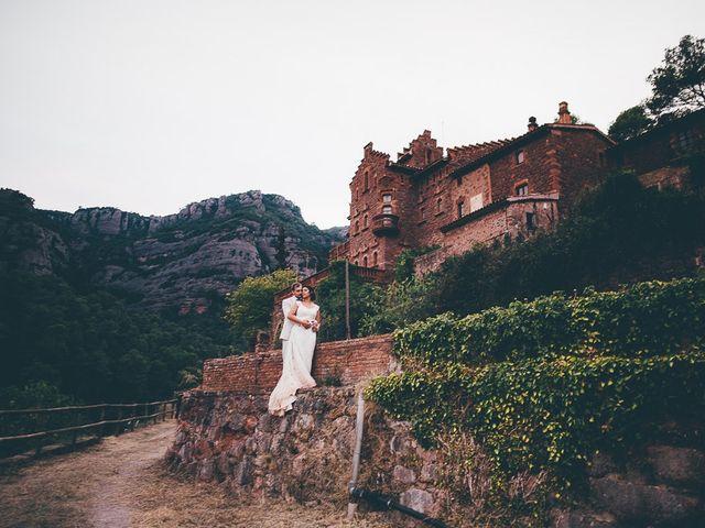 La boda de Josue y Abi en Sant Llorenç Savall, Barcelona 12