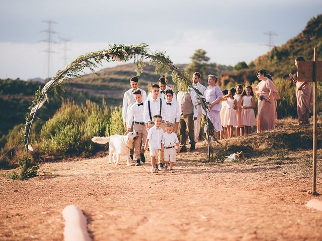 La boda de Josue y Abi en Sant Llorenç Savall, Barcelona 31