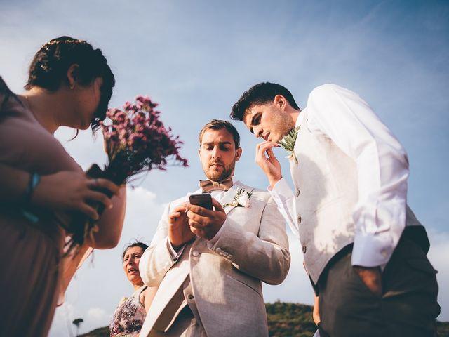 La boda de Josue y Abi en Sant Llorenç Savall, Barcelona 32