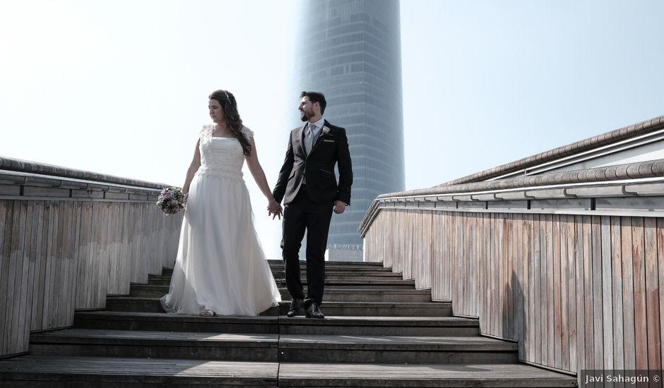 La boda de Miguel Ángel y Agurtzane en Galdakao, Vizcaya