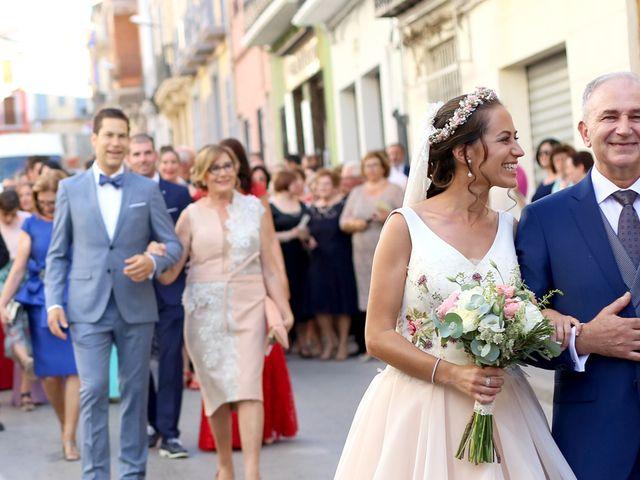 La boda de Berto y María en Canals, Valencia 22