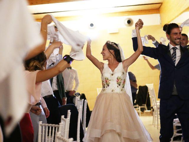 La boda de Berto y María en Canals, Valencia 45