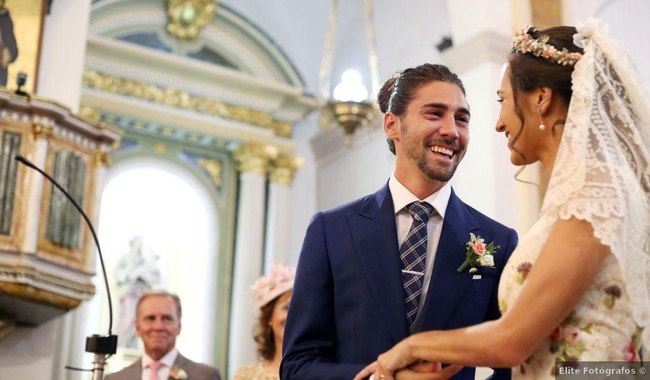 La boda de Berto y María en Canals, Valencia