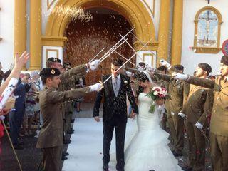 La boda de Diego y Soraya