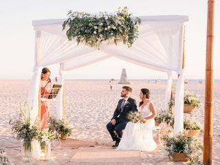 La boda de Pedro y Sandra