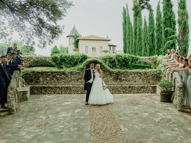 La boda de Anthony y Charlotte en Mangiron, Madrid 81