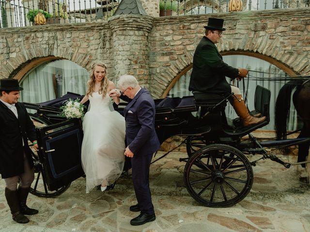 La boda de Anthony y Charlotte en Mangiron, Madrid 96