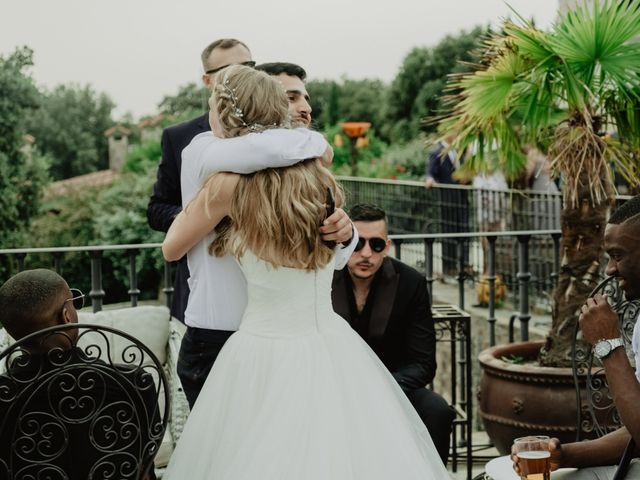 La boda de Anthony y Charlotte en Mangiron, Madrid 122