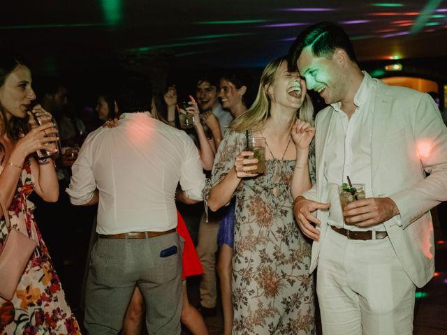 La boda de Anthony y Charlotte en Mangiron, Madrid 163