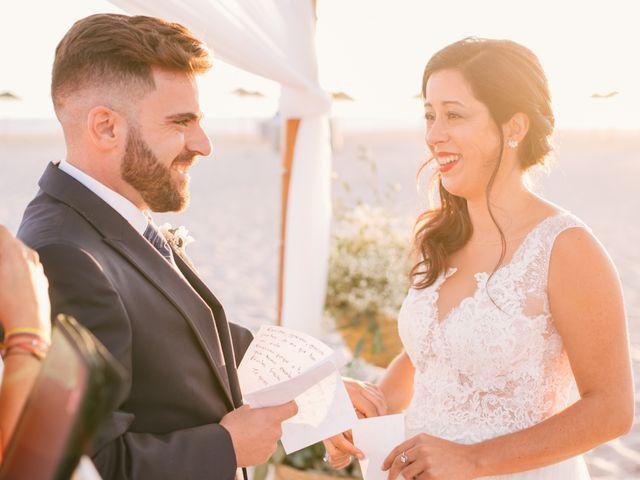 La boda de Sandra y Pedro en Zahara De Los Atunes, Cádiz 33