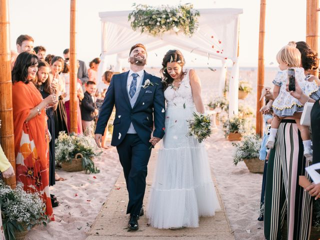 La boda de Sandra y Pedro en Zahara De Los Atunes, Cádiz 40