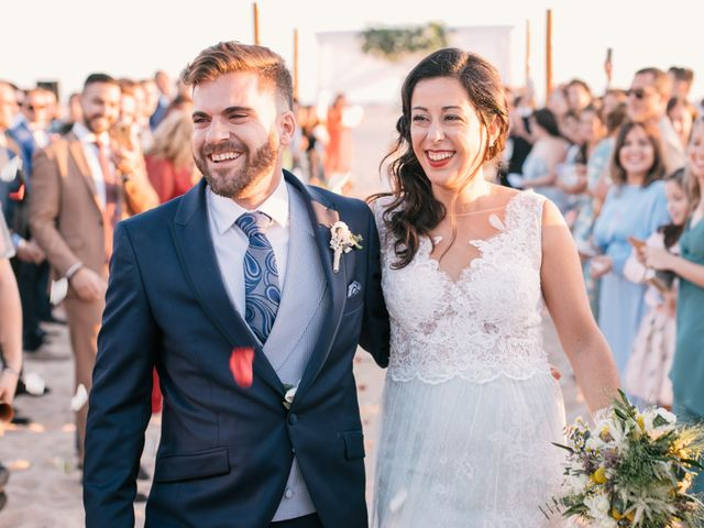 La boda de Sandra y Pedro en Zahara De Los Atunes, Cádiz 43
