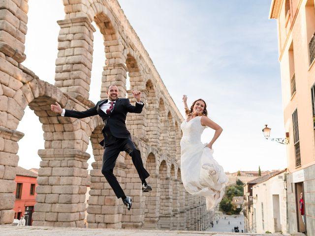 La boda de Julio y Isabel en Segovia, Lugo 2