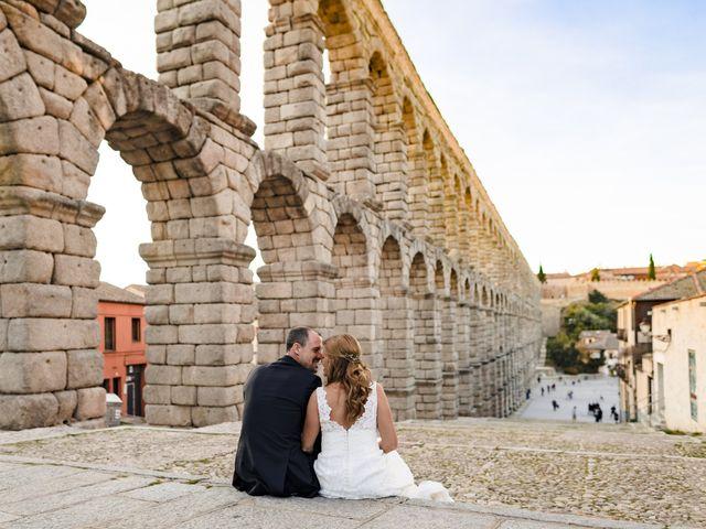 La boda de Julio y Isabel en Segovia, Lugo 30