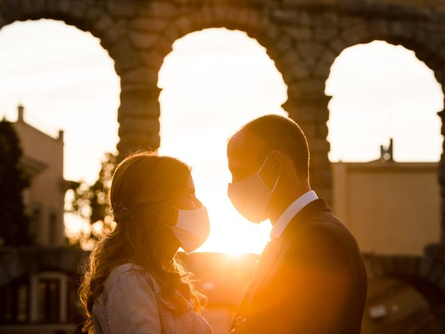 La boda de Julio y Isabel en Segovia, Lugo 31