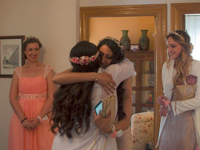 La boda de David y Rubí en San Ildefonso O La Granja, Segovia 17