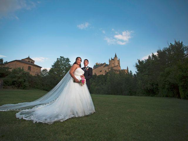 La boda de Rubí y David