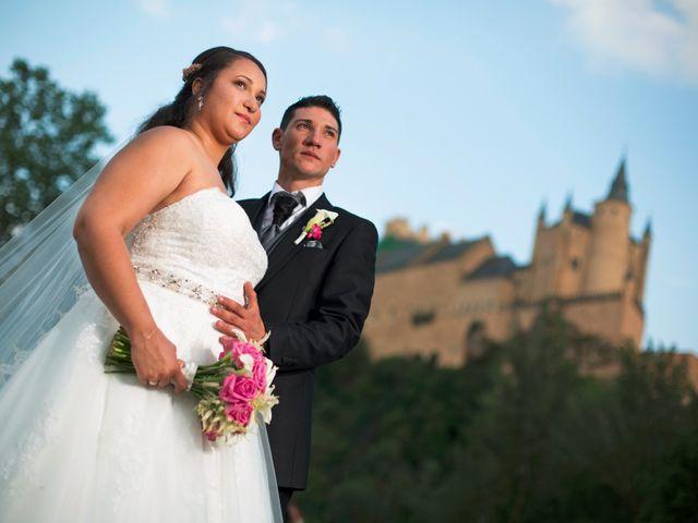 La boda de David y Rubí en San Ildefonso O La Granja, Segovia 31