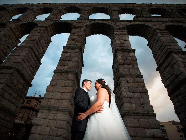 La boda de David y Rubí en San Ildefonso O La Granja, Segovia 32
