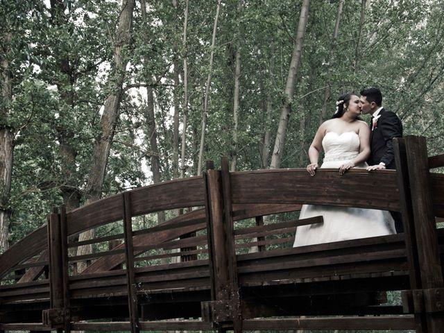La boda de David y Rubí en San Ildefonso O La Granja, Segovia 35