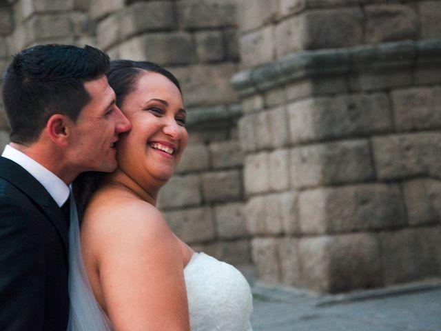 La boda de David y Rubí en San Ildefonso O La Granja, Segovia 37