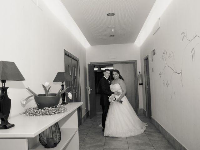 La boda de David y Rubí en San Ildefonso O La Granja, Segovia 44