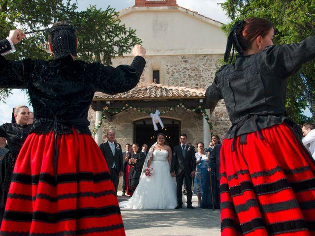 La boda de David y Rubí en San Ildefonso O La Granja, Segovia 46
