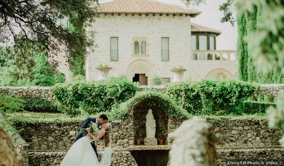 La boda de Anthony y Charlotte en Mangiron, Madrid